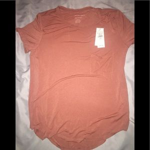 Rust orange top